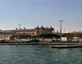 Ferry Overtocht Naar Barcelona Spanje