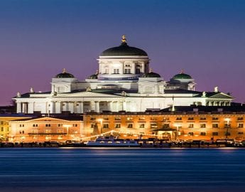 Ferry Overtocht Naar Helsinki